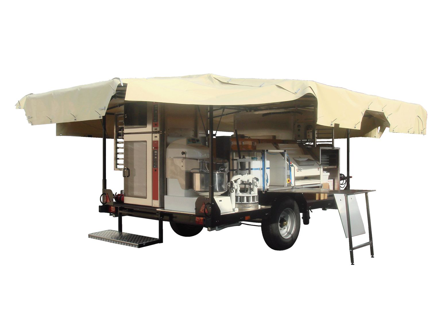 Boulangeries 2mb international - Remorque cuisine mobile ...